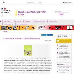 Panorama de la Presse et des Médias Jeunesse - Clemi Paris