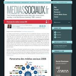 gt; Panorama des médias sociaux 2011