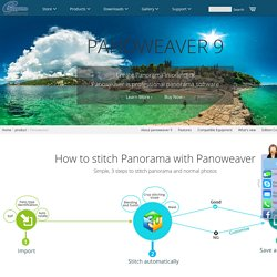 Panorama Software - Photo Stitching Software - Panoweaver