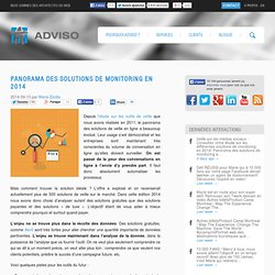 Panorama des solutions de monitoring en 2014