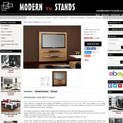 Panorama Oak TV Stand