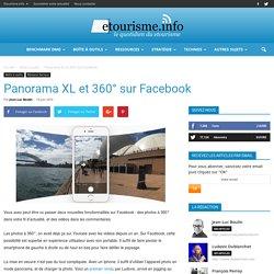 Panorama XL et 360° sur Facebook
