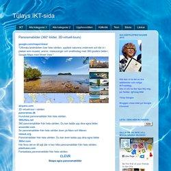 Tülays IKT-sida: Panoramabilder (360°-bilder, 3D-virtuell-tours)