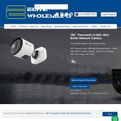 180° Panoramic H.265+ Mini Bullet Network Camera - Elite Wholesalers