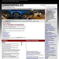 Panorama Software Panorama Stitcher Panoramic Images. Software VR Photography, QTVR, Quicktime VR