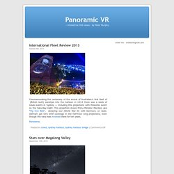 Peter Murphy's Panoramic VR Weblog