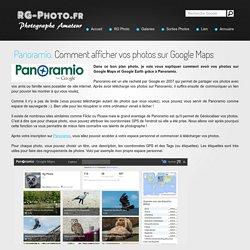 Panoramio : Vos photos sur Google Maps