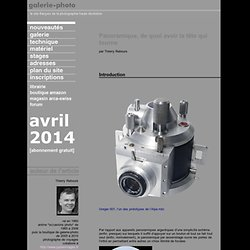 panoramique numérique : tableaux d'assemblage