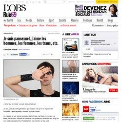 [French] Je suis pansexuel, j'aime les hommes, les femmes, les trans, etc.