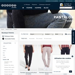 Pantalon Femme - Collection Pantalon Bonobo