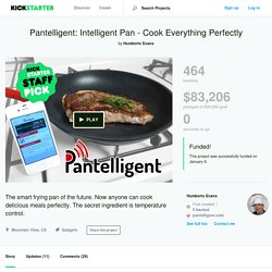 Pantelligent: Intelligent Pan - Cook Everything Perfectly by Humberto Evans