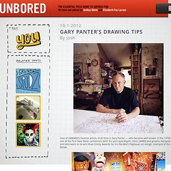 Gary Panter's drawing tips