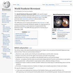 World Pantheist Movement