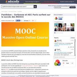 Panthéon – Sorbonne et HEC Paris surfent sur le succès des MOOCS