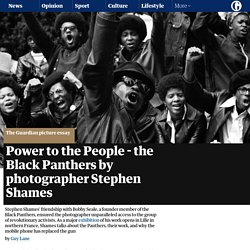 Power to the People - the Black Panthers by photographer Stephen Shames