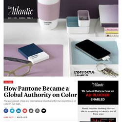 How Pantone Became a Global Authority on Color