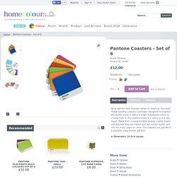 Pantone Coasters - Set of 6