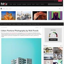Urban Pantone Photography by Nick Franck