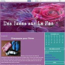 pantoufle au tricot : Tous les messages sur pantoufle au tricot - Des idées sur le fil