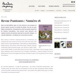 Revue Pantouns : Numéro 18