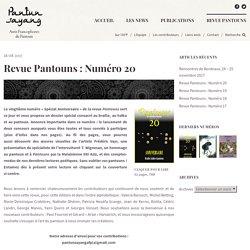 Revue Pantouns : Numéro 20