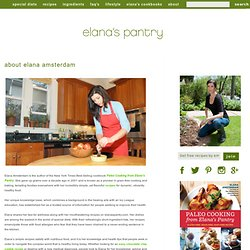 About Elana's Gluten Free Blog