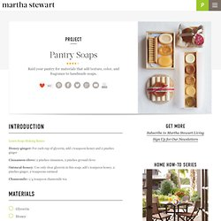 Pantry Soaps - Martha Stewart Crafts by Material