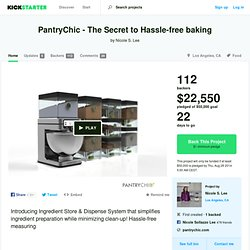 PantryChic - The Secret to Hassle-free baking by Nicole S. Lee