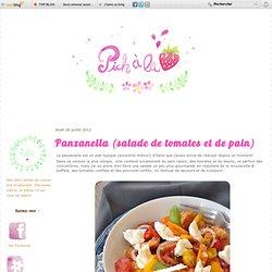 Panzanella (salade de tomates et de pain)