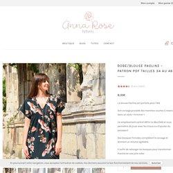 Blouse PAOLINE - Patron de couture - Anna Rose patterns