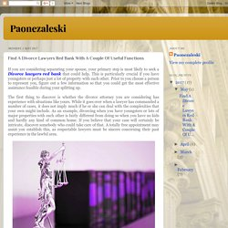 Find A Divorce Lawyers Red Bank With A Couple Of Useful Functions - Paonezaleski