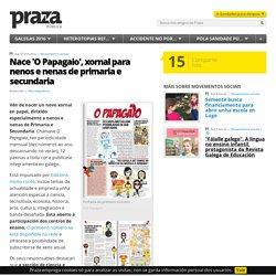 Nace 'O Papagaio', xornal para nenos e nenas de primaria e secundaria
