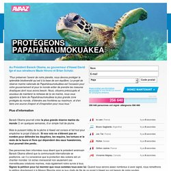 Avaaz - Papahānaumokuākea