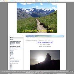 Topo Col de Papavet (1245m) - La passion de la randonnée