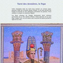 Le Pape, tarot du chateau des Avenières