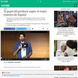 El papel del profesor según 'el mejor maestro de España'