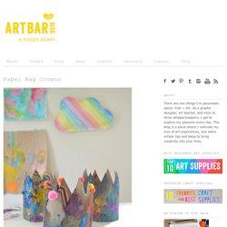 Paper Bag Crowns - Art Bar