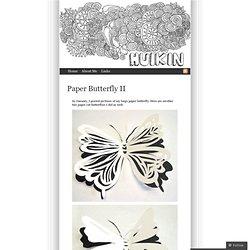 Paper Butterfly II « Huikin