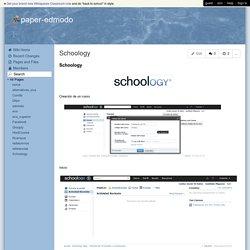 paper-edmodo - Schoology