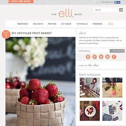 DIY Paper Fruit Basket