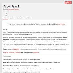 Paper Jam 1 - itch.io