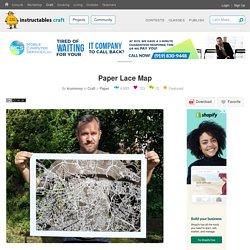 Paper Lace Map: 14 Steps