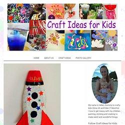 Paper Mache Spaceship - Craft Ideas for Kids