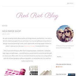 paper – Red Riot