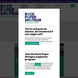Rock, Paper, Shotgun: the lead character is called Kevin