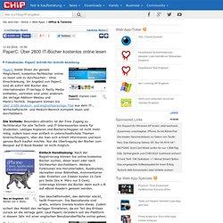 PaperC: Über 2600 IT-Bücher kostenlos online lesen - News