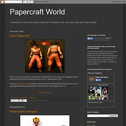 Papercraft World | Paper Models | Free Papercraft | Printable Crafts | Paper Toys | Arts and Crafts
