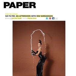 NO FILTER: An Afternoon With Kim Kardashian