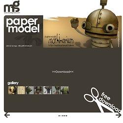 โมเดลกระดาษ papermodel www.Modelgradas.com