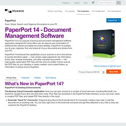 PaperPort 12 - Document Scanning Software, Document Imaging & Scanning Services